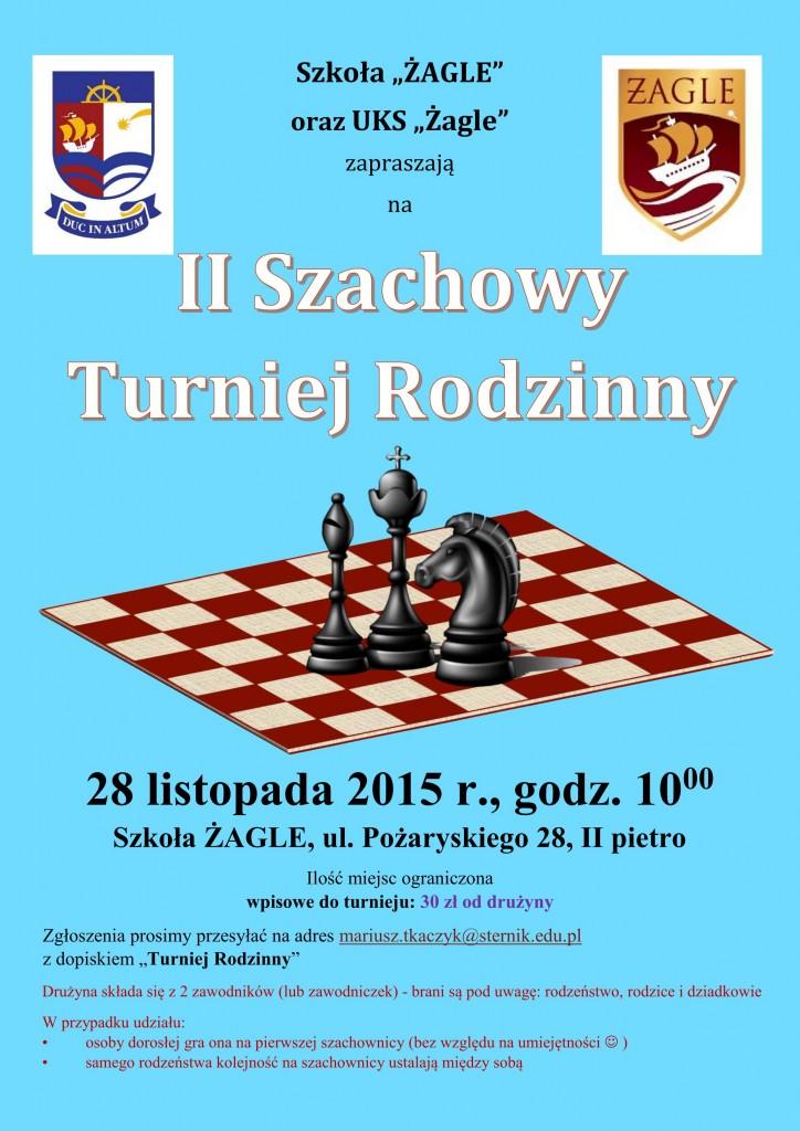II Szachowy Turniej Rodzinny 2015