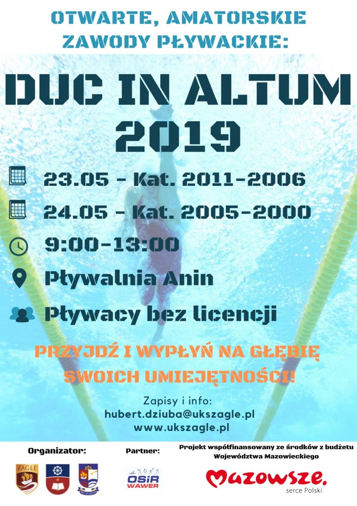 DUC IN ALTUM 2019